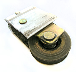 worn out roller